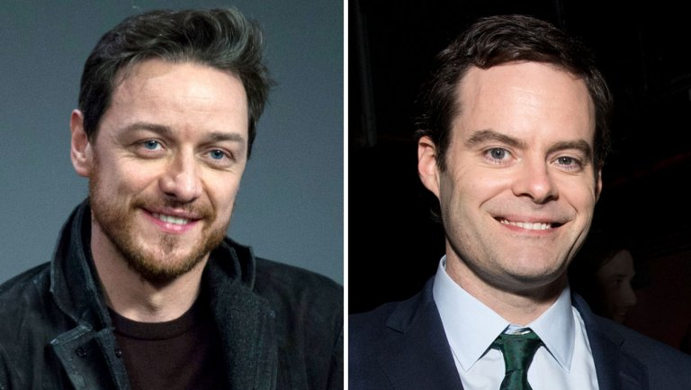 James McAvoy e Bill Harder IT