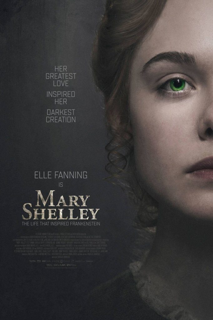 Mary Shelley Poster Elle Fanning