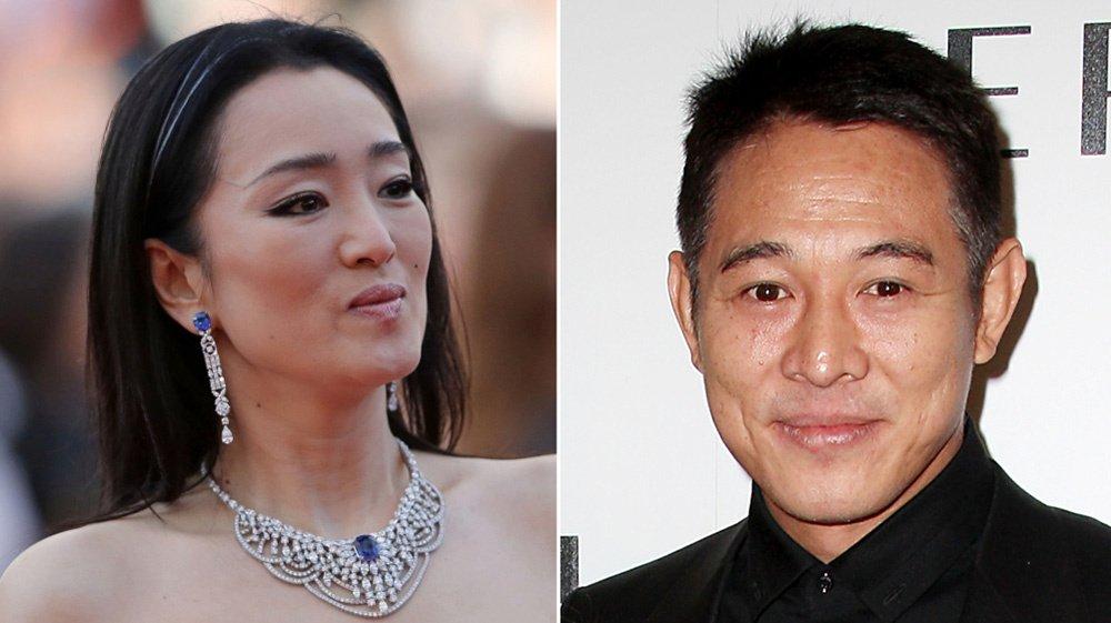 Gong Li e Jet Li
