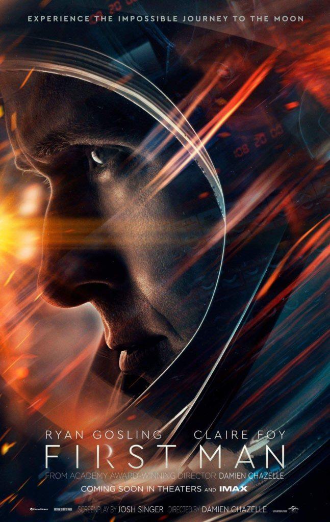 First Man: Il primo poster del film con Ryan Gosling